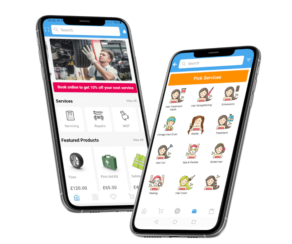 apps services selling ecommerce