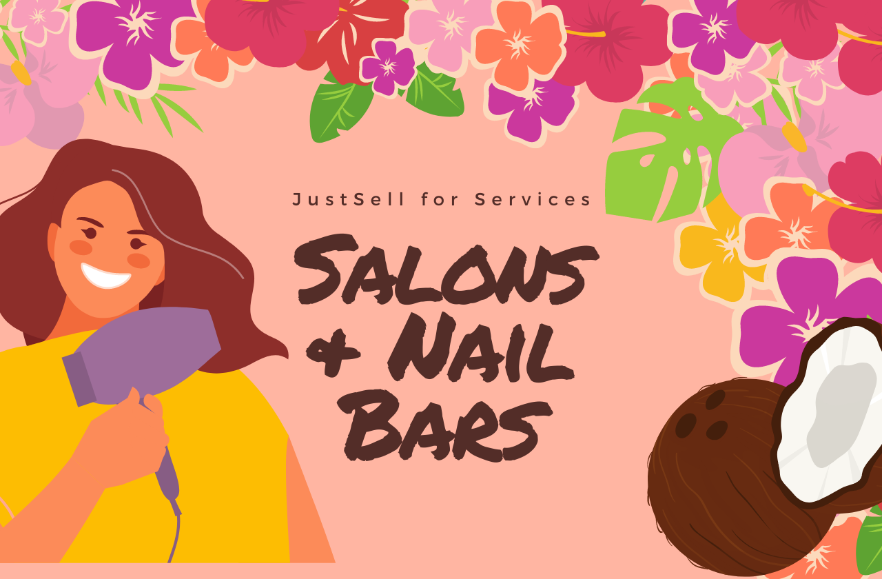 justsell for services: salons & nail bars blog post feature image